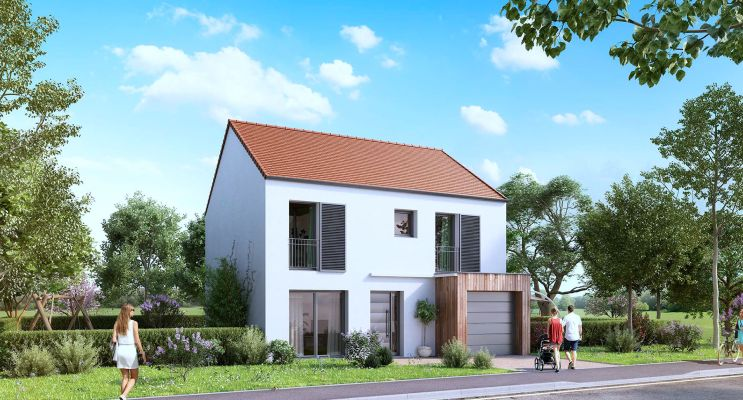 Photo du Résidence « Le Hameau de la Guérinière » programme immobilier neuf en Loi Pinel à Mauchamps