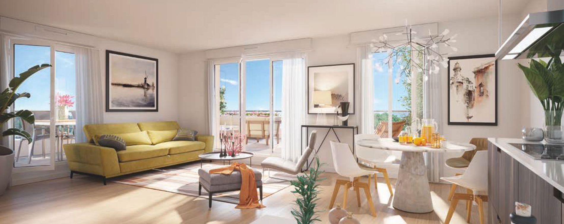 Mennecy : programme immobilier neuve « Programme immobilier n°217813 » en Loi Pinel (4)