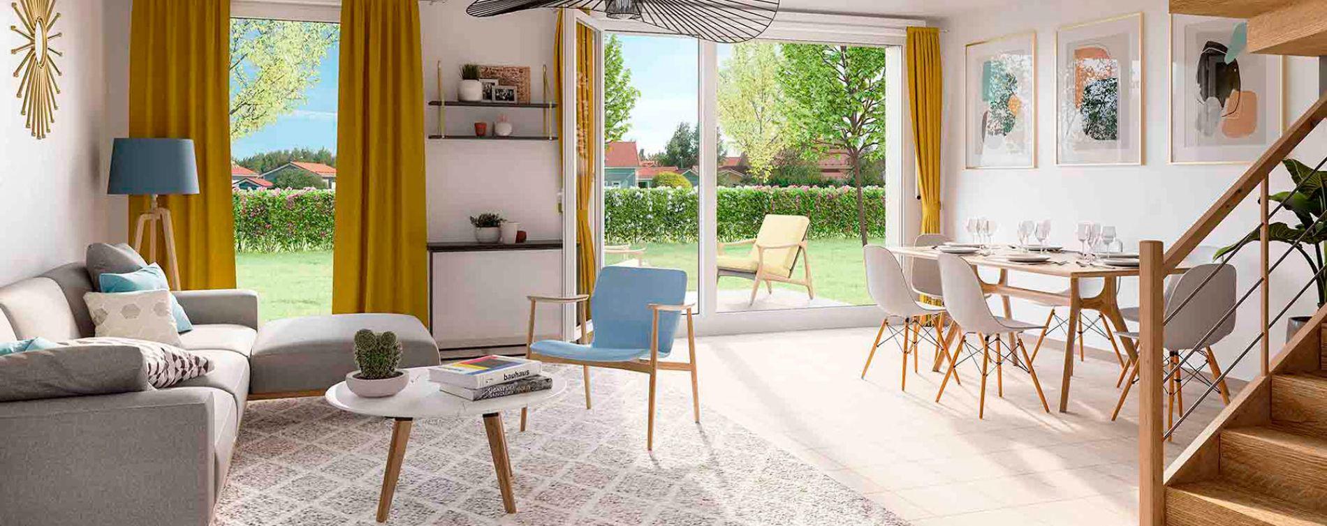 Montlhéry : programme immobilier neuve « Le Parc des Archers » en Loi Pinel