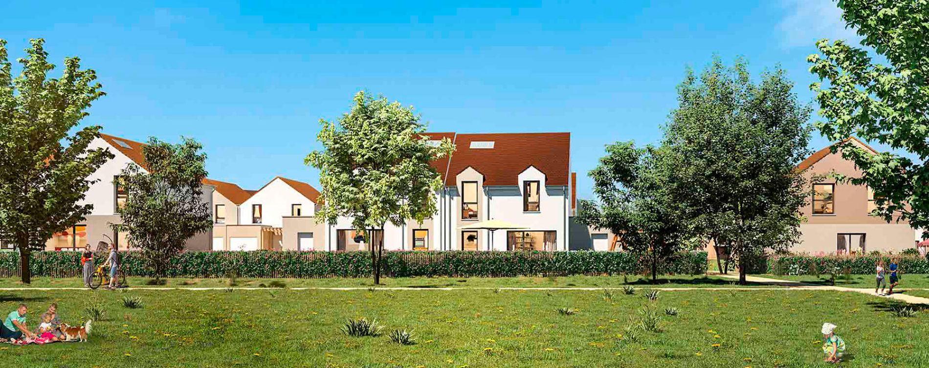 Montlhéry : programme immobilier neuve « Le Parc des Archers » en Loi Pinel (2)