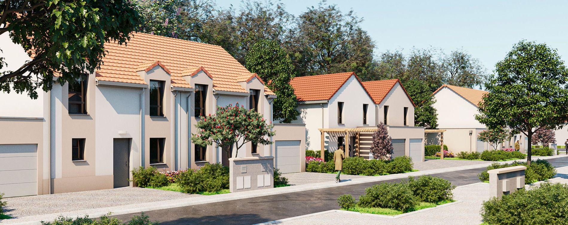 Montlhéry : programme immobilier neuve « Le Parc des Archers » en Loi Pinel (3)