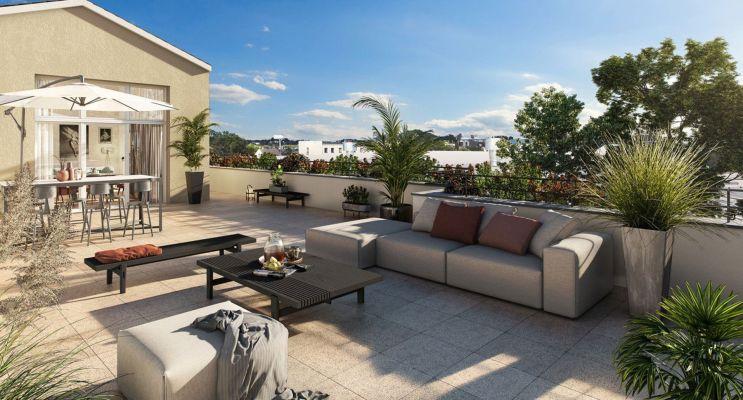 Morangis programme immobilier neuf « Confluence » en Loi Pinel