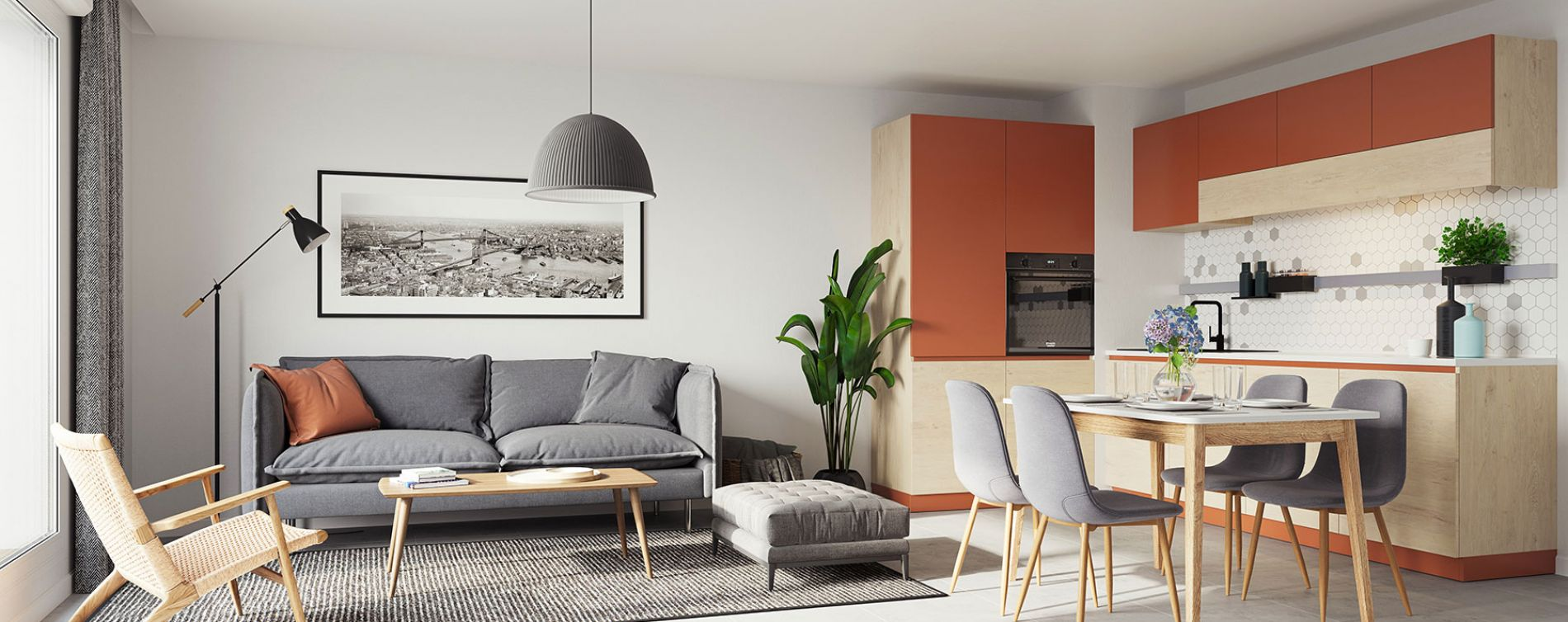 Morangis : programme immobilier neuve « L'Inattendu » en Loi Pinel (3)