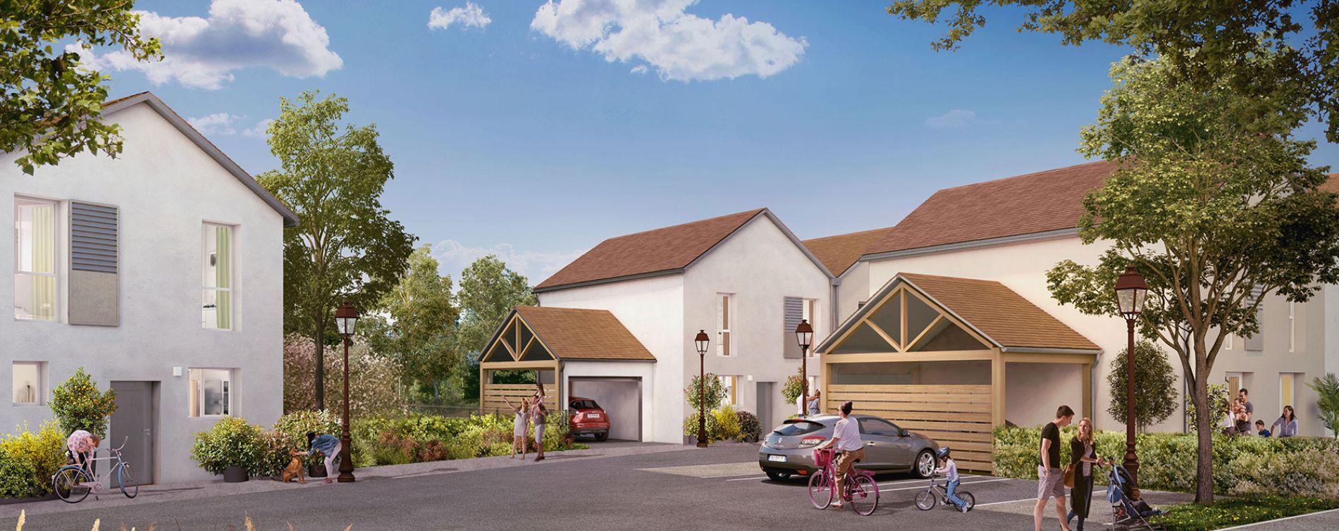Ormoy : programme immobilier neuve « La Roselière » (3)
