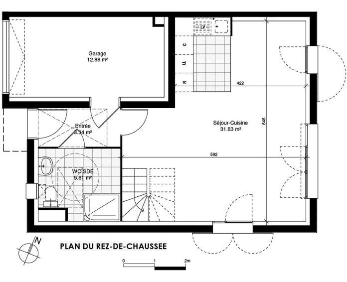 Plan T5 neuf à Ormoy de
