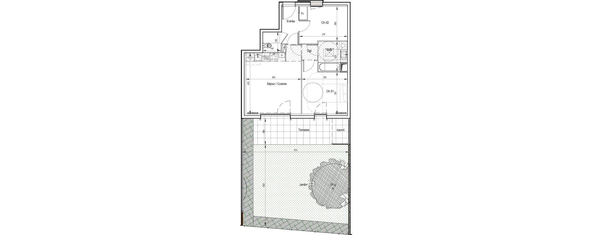 Appartement T5 de 104,12 m2 à Ormoy Centre