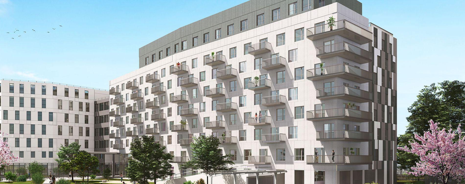 Palaiseau : programme immobilier neuve « Le Cloud »