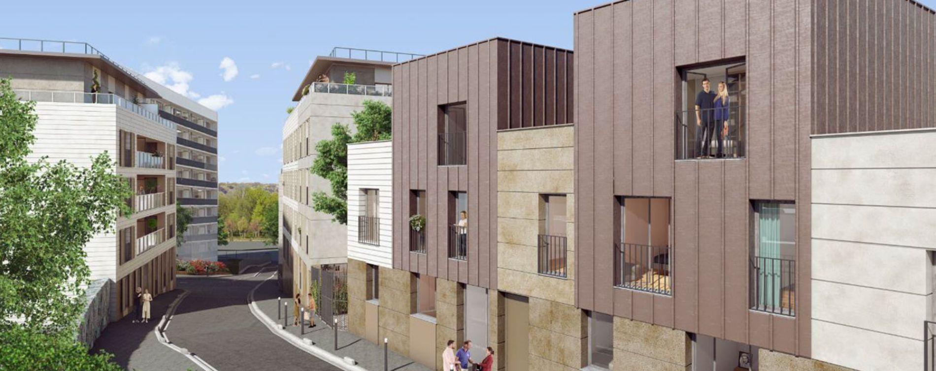 Palaiseau : programme immobilier neuve « Rue Tronchet » (3)