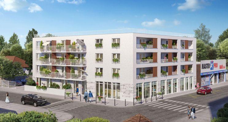 Photo du Résidence « Les Jardins de Ris en Seine » programme immobilier neuf en Loi Pinel à Ris-Orangis