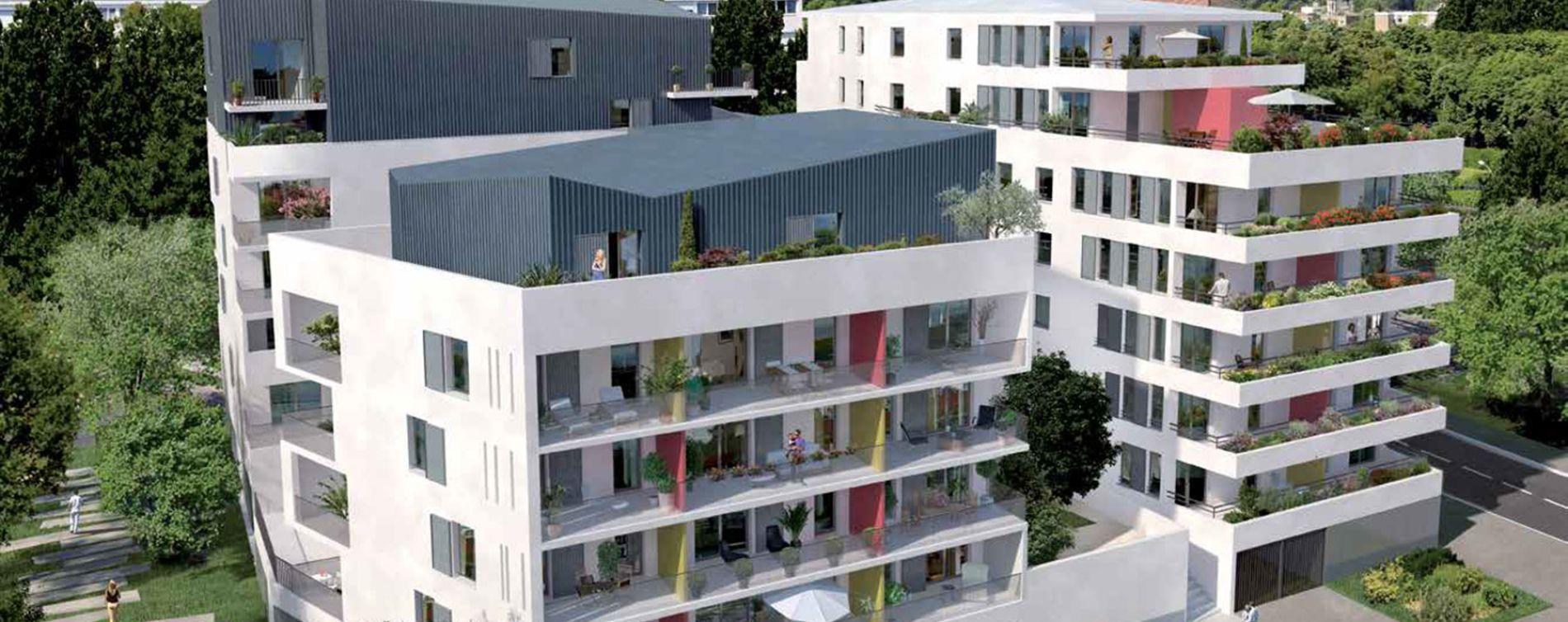 Ris-Orangis : programme immobilier neuve « Lumières de Seine » en Loi Pinel