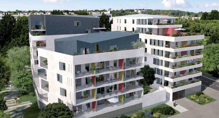 Ris-Orangis : programme immobilier neuf « Lumières de Seine » en Loi Pinel