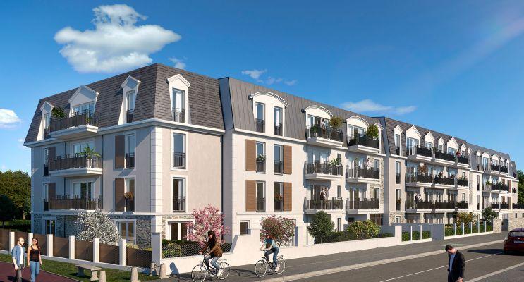 Résidence « Magnifi'Sens » programme immobilier neuf en Loi Pinel à Sainte-Geneviève-des-Bois n°1