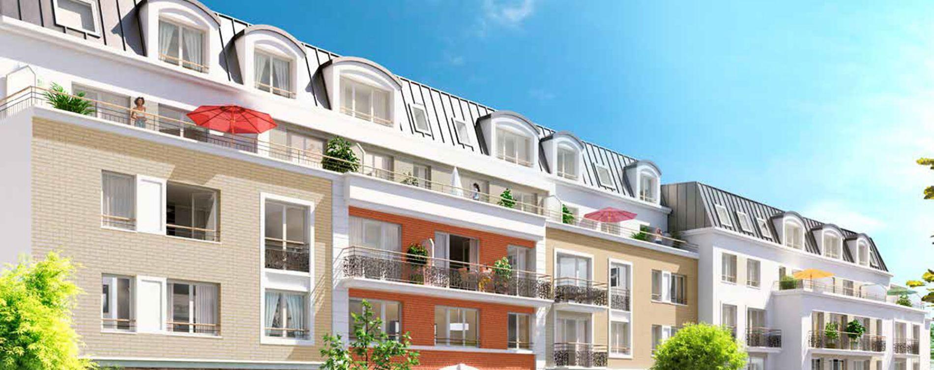Savigny-sur-Orge : programme immobilier neuve « L'Avant-Scène » en Loi Pinel