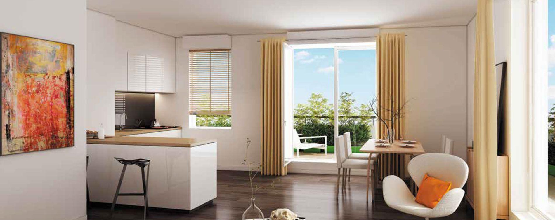 Savigny-sur-Orge : programme immobilier neuve « L'Avant-Scène » en Loi Pinel (2)