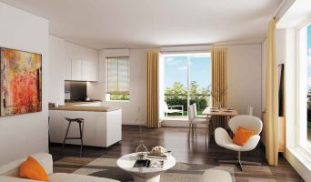 Savigny-sur-Orge programme immobilier neuve « L'Avant-Scène »  (2)