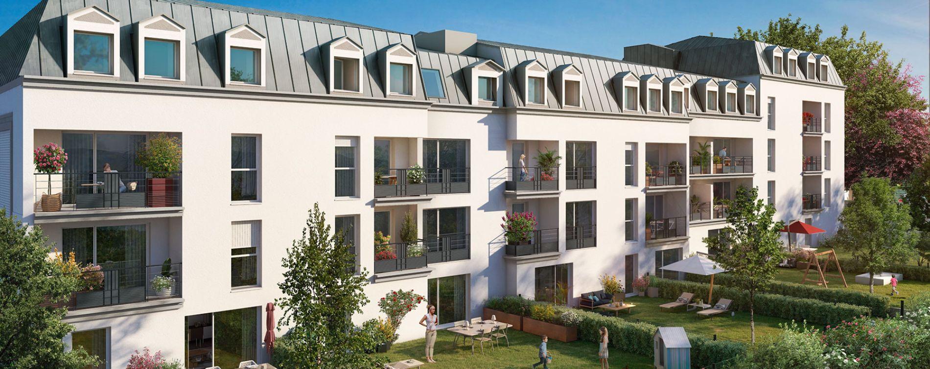 Savigny-sur-Orge : programme immobilier neuve « Le Fantasio » (2)