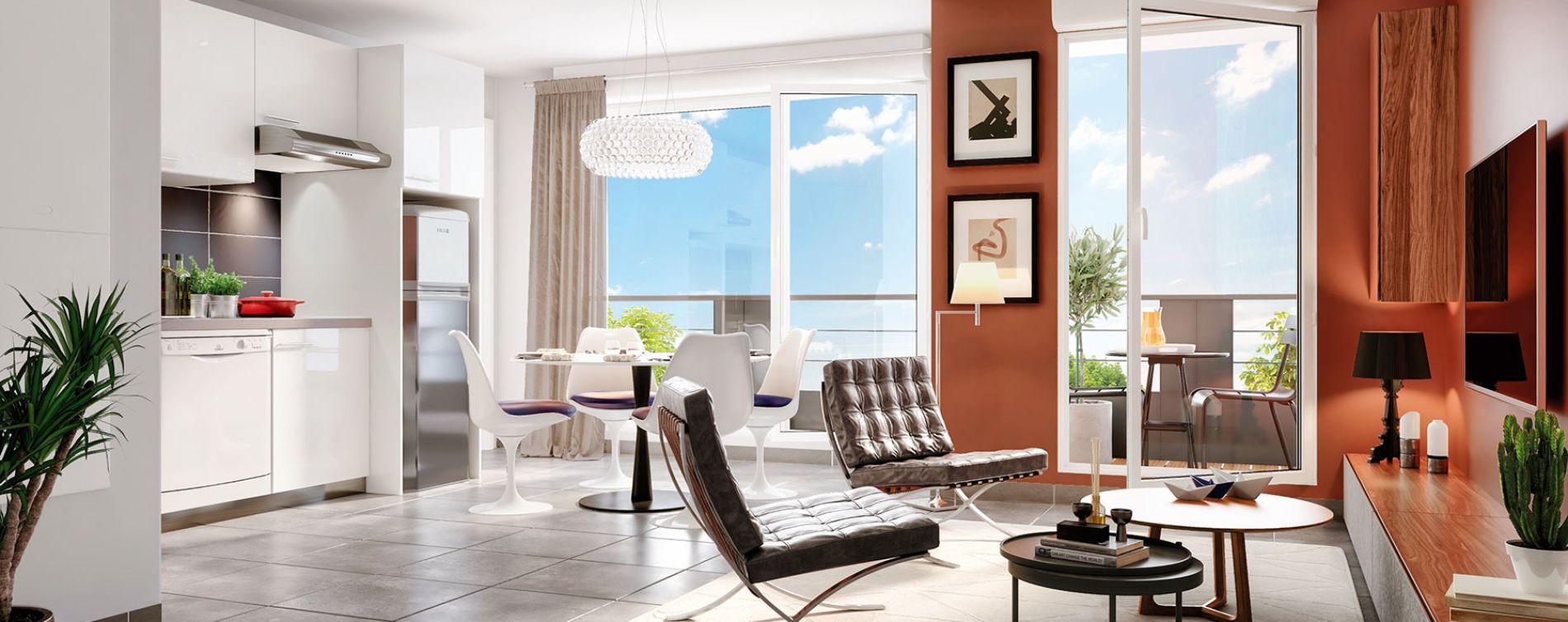 Savigny-sur-Orge : programme immobilier neuve « Le Fantasio » (3)