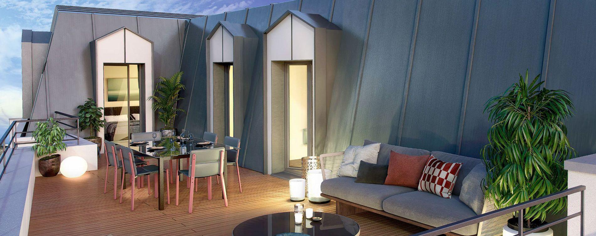 Savigny-sur-Orge : programme immobilier neuve « Le Savini » (2)