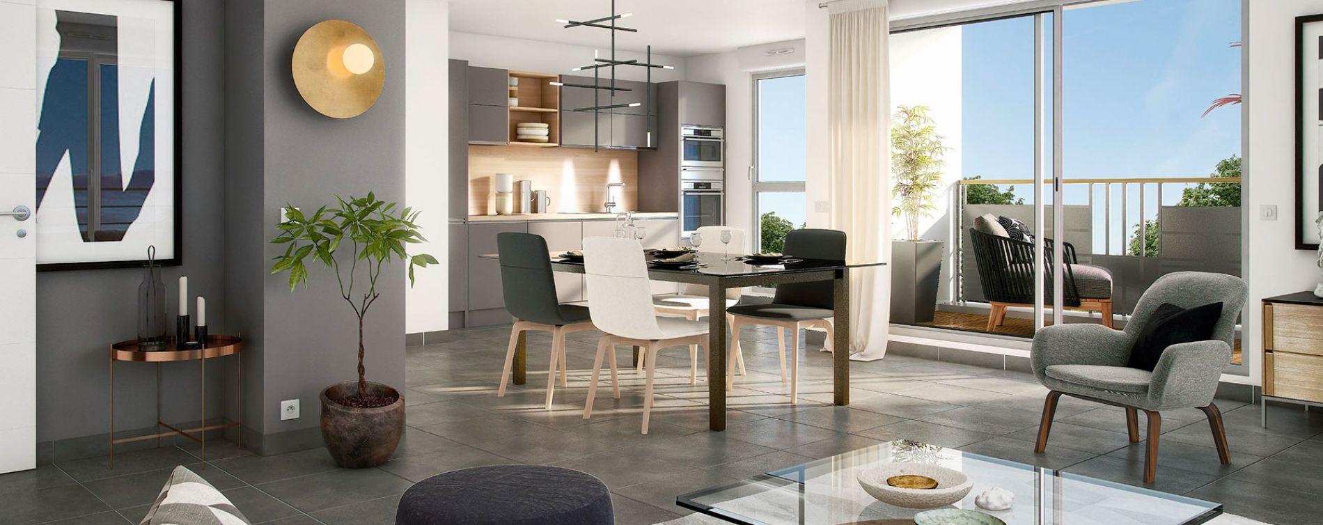 Savigny-sur-Orge : programme immobilier neuve « Le Savini » (3)