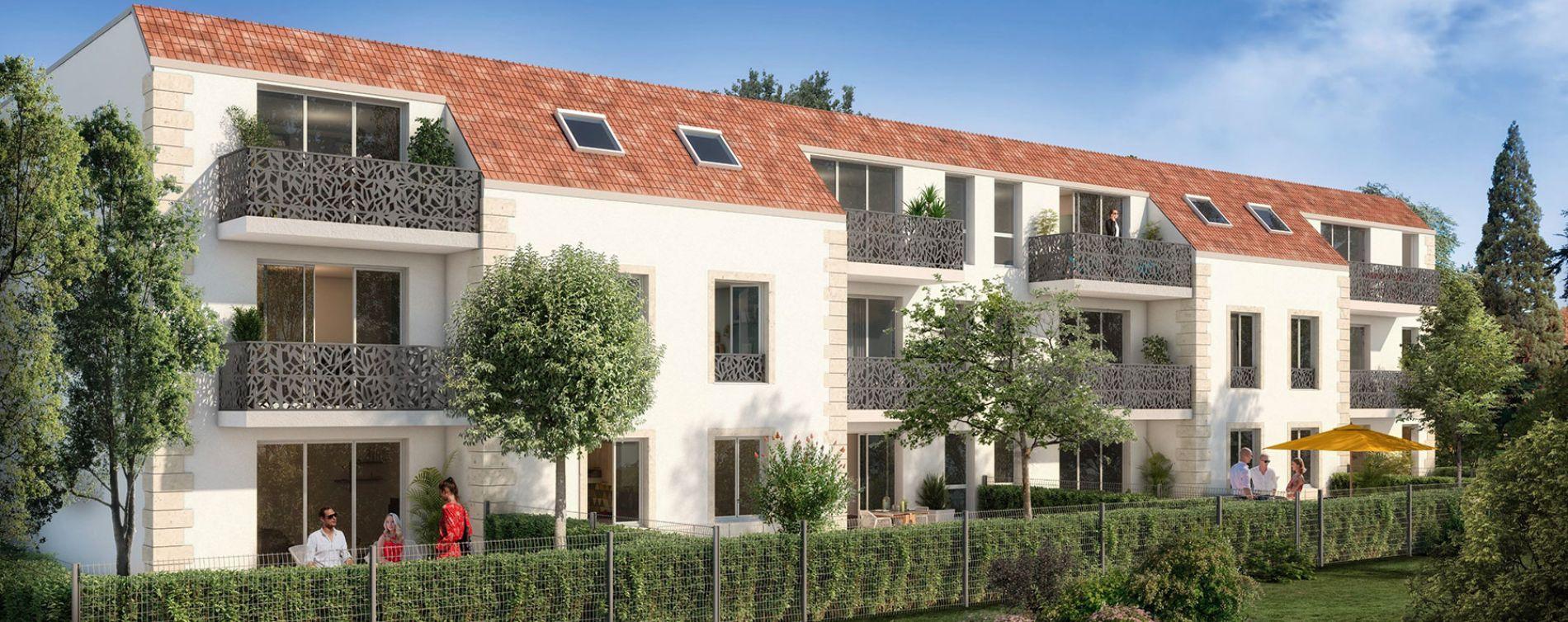 Vert-le-Petit : programme immobilier neuve « Le Green Val »