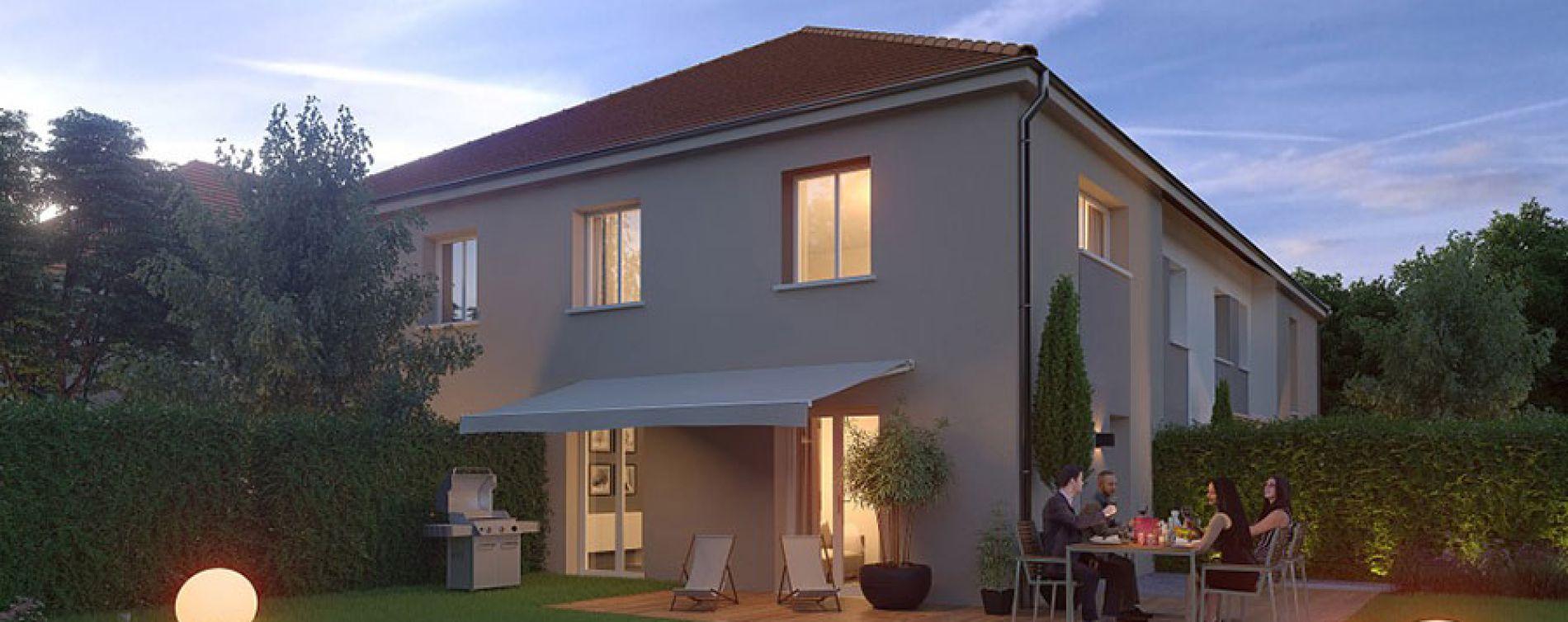 Vert-le-Petit : programme immobilier neuve « Les Allées Vertoises »