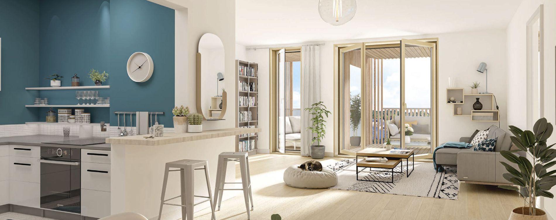 Vigneux-sur-Seine : programme immobilier neuve « Le 27 » en Loi Pinel (5)