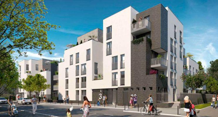 Résidence « Parc Concorde » programme immobilier neuf en Loi Pinel à Vigneux-sur-Seine n°1