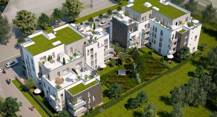 Résidence « Parc Concorde » programme immobilier neuf en Loi Pinel à Vigneux-sur-Seine n°3