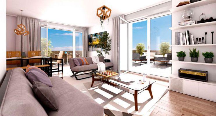 Résidence « Parc Concorde » programme immobilier neuf en Loi Pinel à Vigneux-sur-Seine n°4