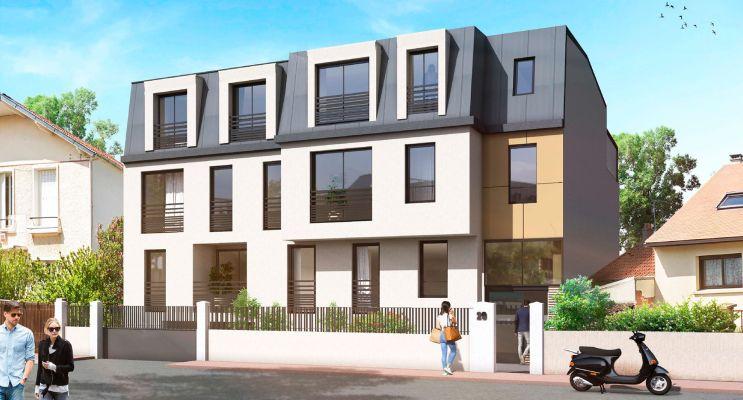 Antony programme immobilier neuf « La Marquette » en Loi Pinel