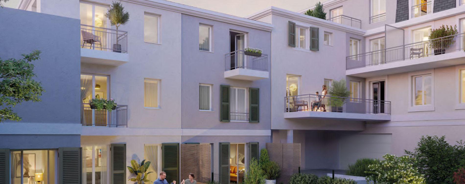 Antony : programme immobilier neuve « La résidence de l'Aurore » en Loi Pinel