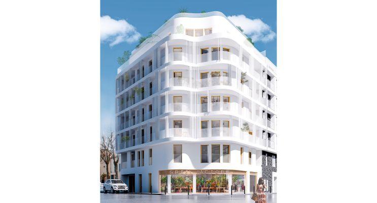 Résidence « 123 Voltaire » programme immobilier neuf en Loi Pinel à Asnières-sur-Seine n°2