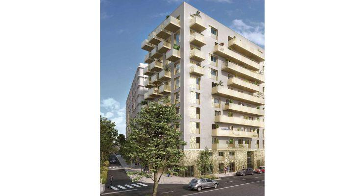 Résidence « Amplitude » programme immobilier neuf en Loi Pinel à Asnières-sur-Seine n°1