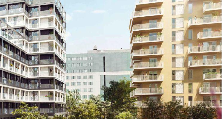 Résidence « Amplitude » programme immobilier neuf en Loi Pinel à Asnières-sur-Seine n°3