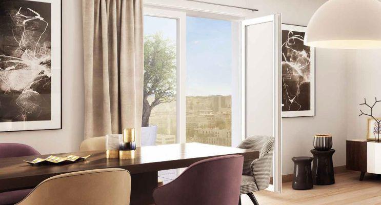 Résidence « Amplitude » programme immobilier neuf en Loi Pinel à Asnières-sur-Seine n°4