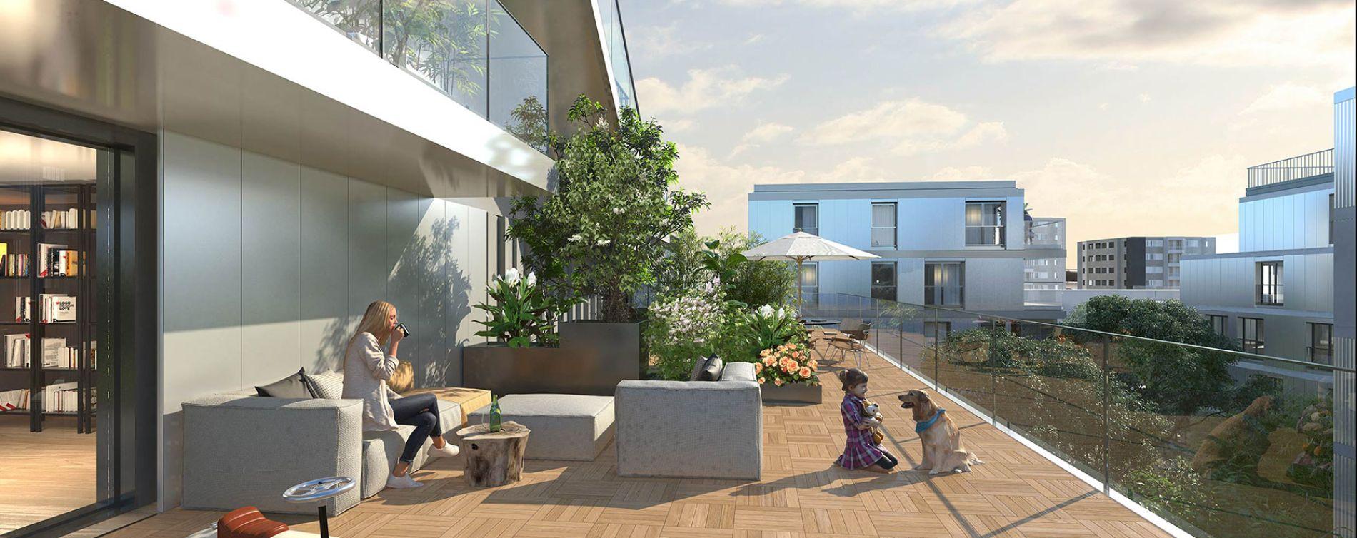 Asnières-sur-Seine : programme immobilier neuve « Artchipel »