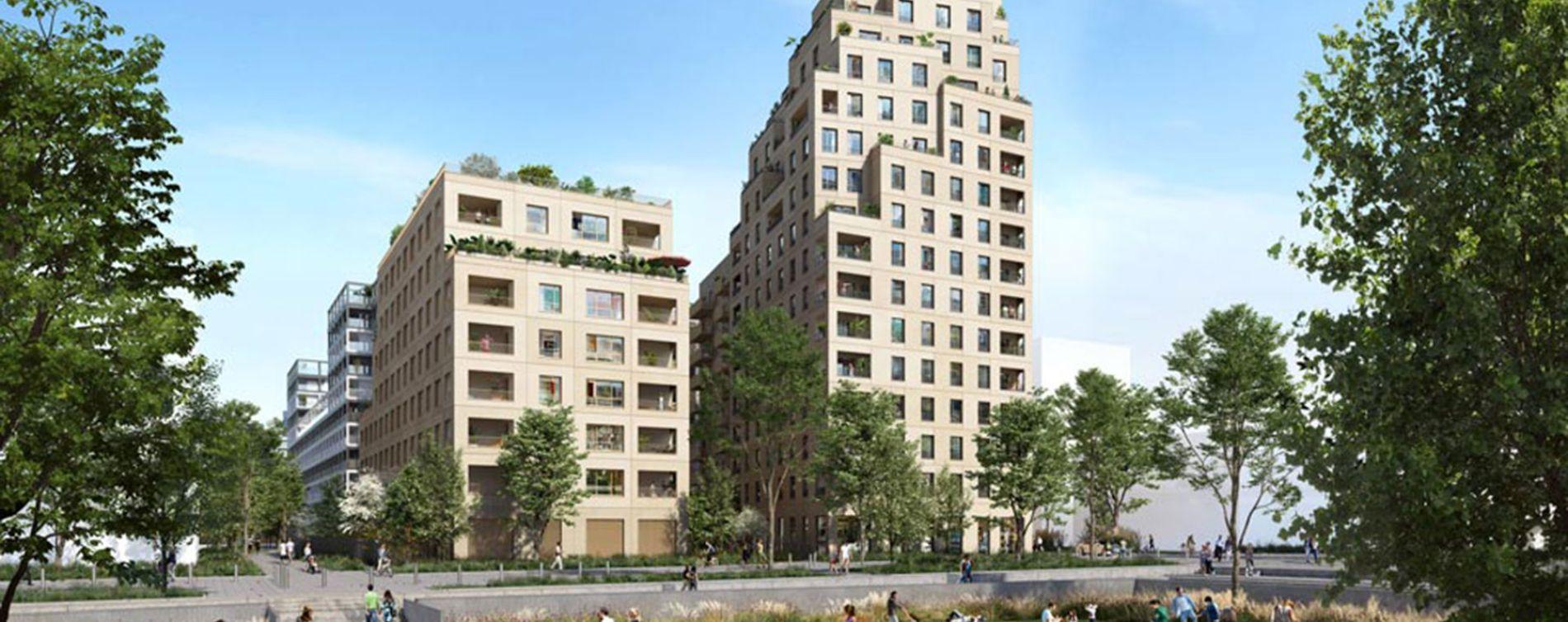 Asnières-sur-Seine : programme immobilier neuve « Central Parc » en Loi Pinel (2)