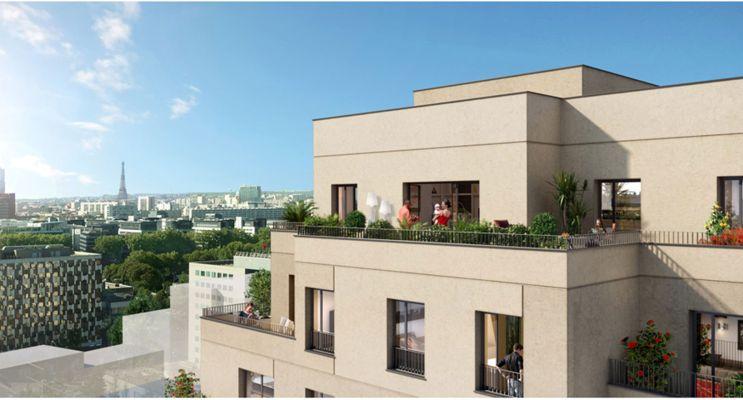 Asnières-sur-Seine programme immobilier neuf « Central Parc