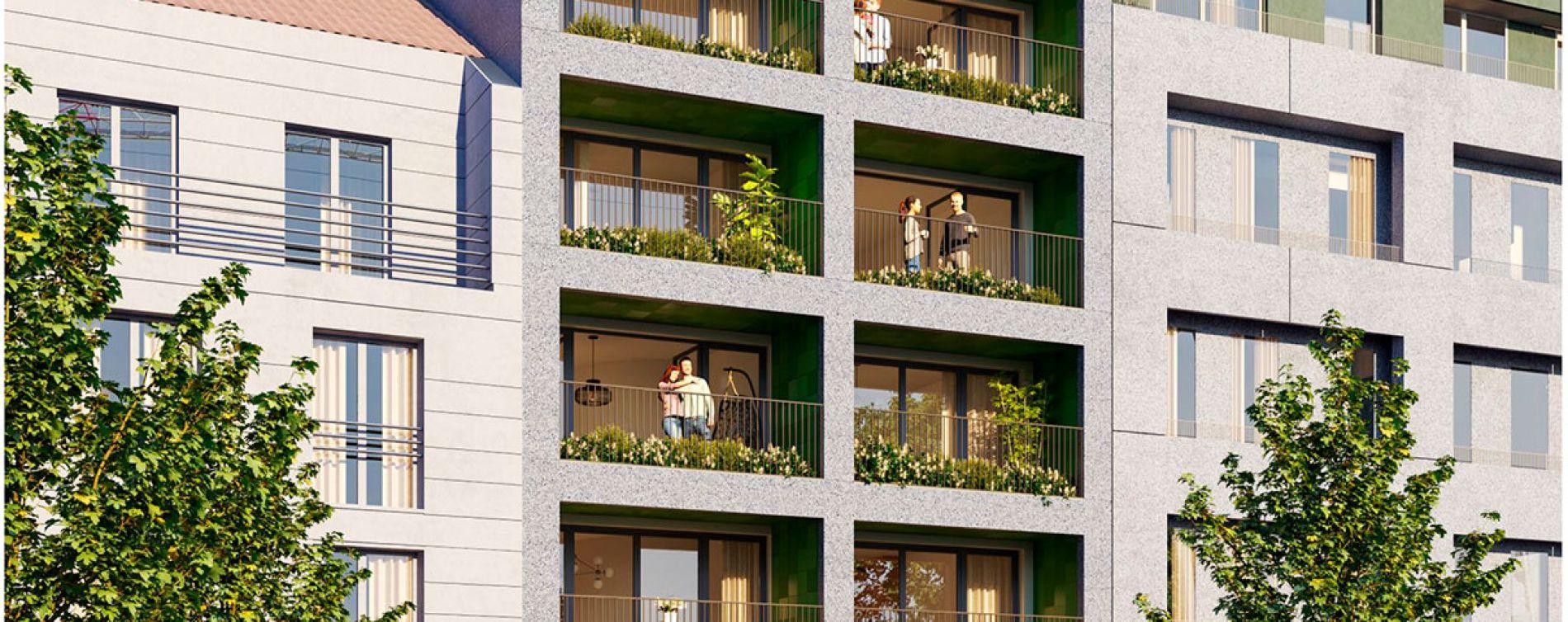 Asnières-sur-Seine : programme immobilier neuve « Le 18 » en Loi Pinel (2)