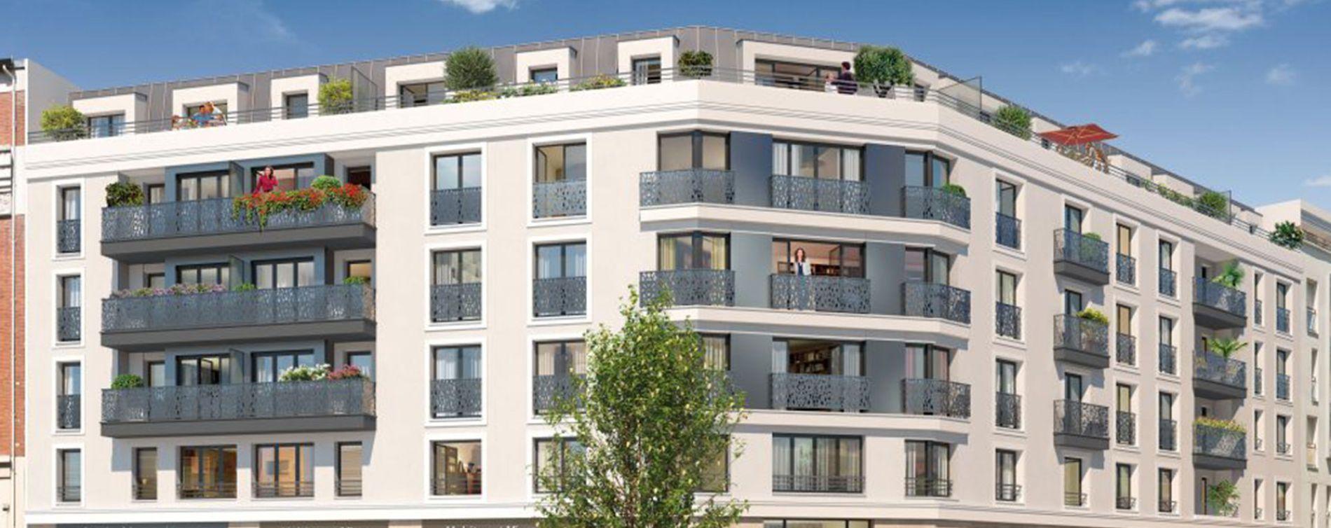 Asnières-sur-Seine : programme immobilier neuve « Programme immobilier n°217728 »