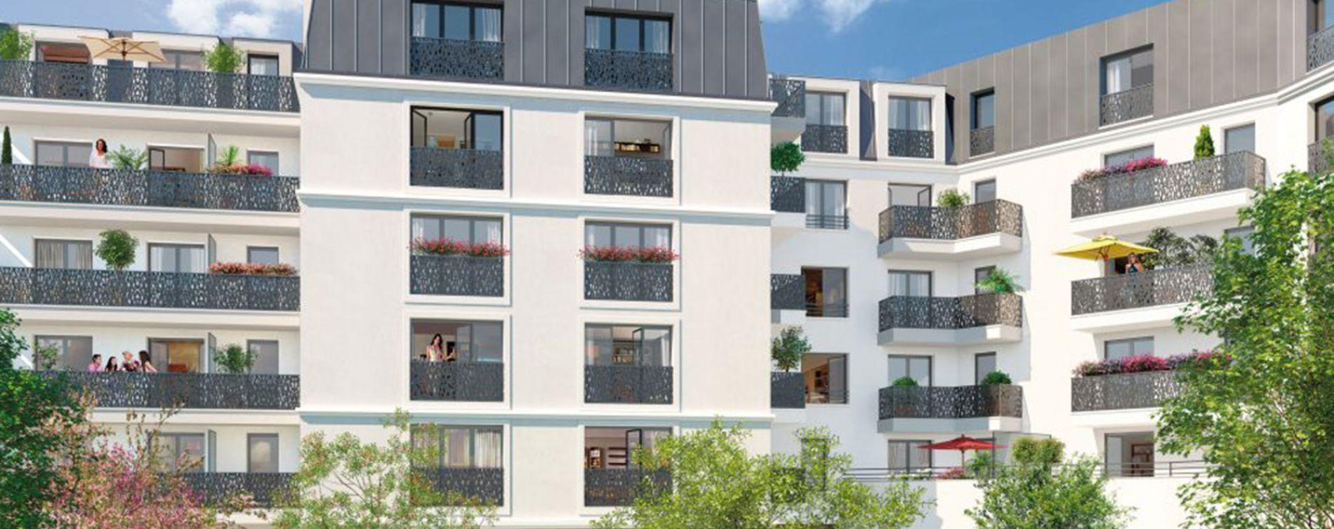 Asnières-sur-Seine : programme immobilier neuve « Programme immobilier n°217728 » (2)