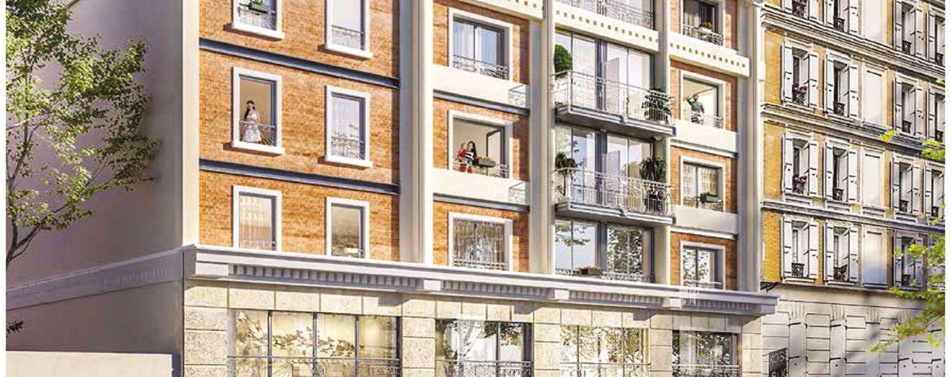 Asnières-sur-Seine : programme immobilier neuve « L'Inédit » en Loi Pinel (2)