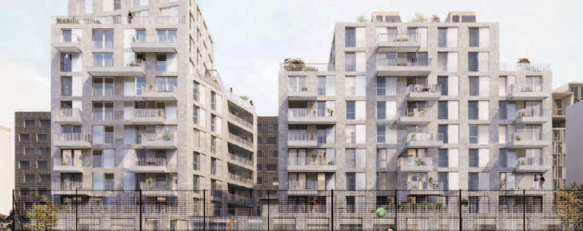 Asnières-sur-Seine : programme immobilier neuve « Olympéa » en Loi Pinel
