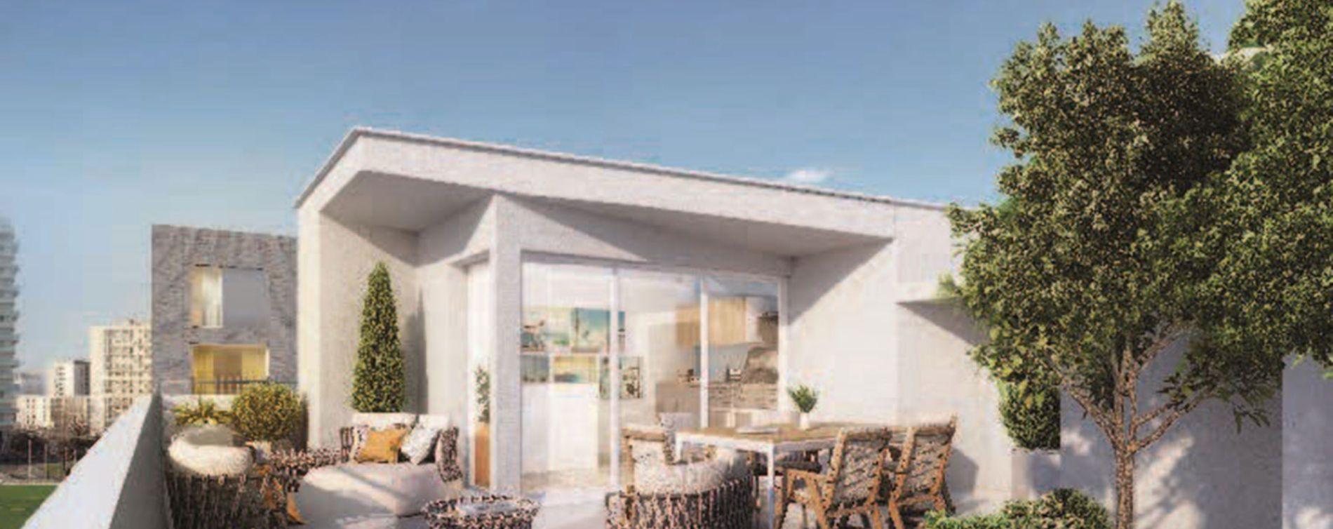 Asnières-sur-Seine : programme immobilier neuve « Olympéa » en Loi Pinel (3)