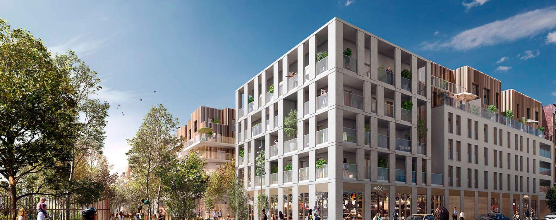 Asnières-sur-Seine : programme immobilier neuve « Promenade Manet »