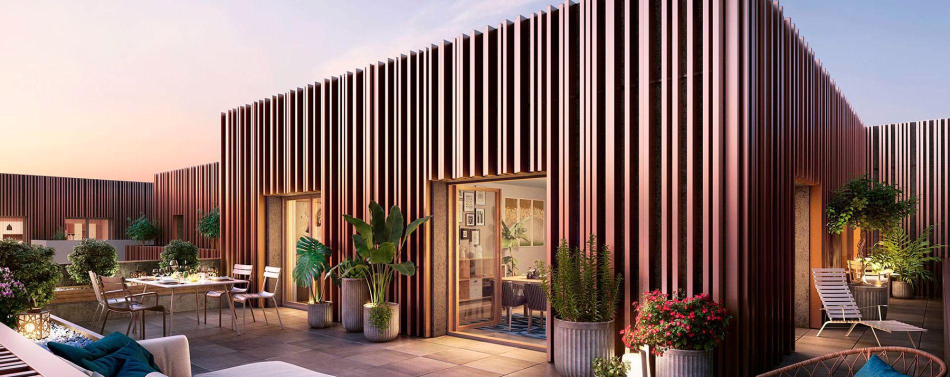 Asnières-sur-Seine : programme immobilier neuve « Promenade Manet » (3)
