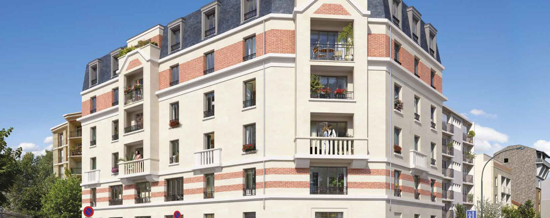 Asnières-sur-Seine : programme immobilier neuve « Programme immobilier n°219159 » en Loi Pinel