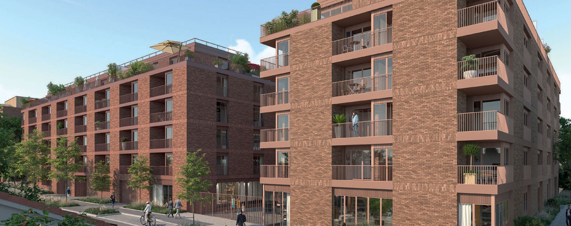 Bagneux : programme immobilier neuve « Rue Gustave Courbet »