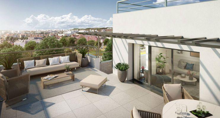 Bois-Colombes : programme immobilier neuf « Canopéa » en Loi Pinel