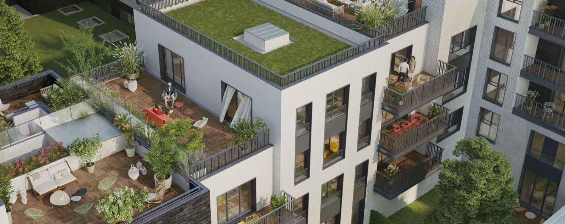 Boulogne-Billancourt : programme immobilier neuve « 128' Aguesseau » (2)